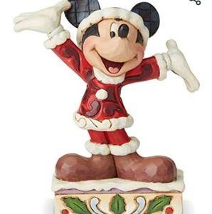 NIB disney traditions Jim shore Mickey Christmas